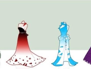 10 платьев, вдохновленных фейсбуком, ютюбом, твиттером и википедией