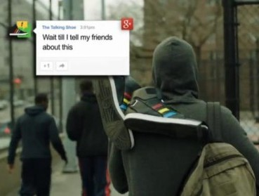 Говорливые кроссовки от Google