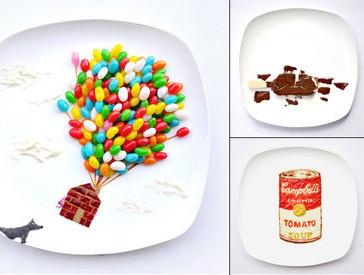 Food Art: вкусные репродукции