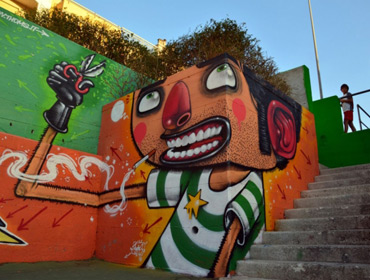 Новый уровень уличного искусства от Диего Делла Поста