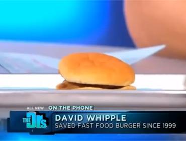 Гамбургер не испортился после 14 лет хранения