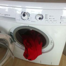 Озадаченная стиральная машина