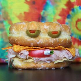 Курящий бутерброд