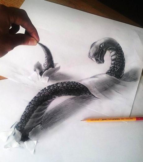 Создание рисунка в 3d измерении