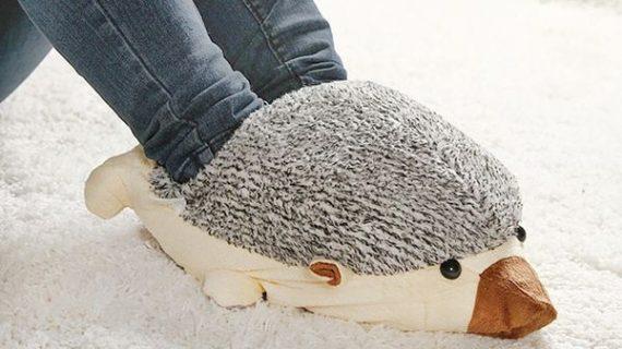 Ежовая USB-грелка для ног