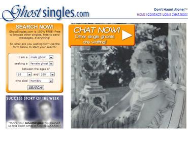 Сайт знакомств для призраков