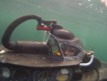 Subo - подводная байдарка