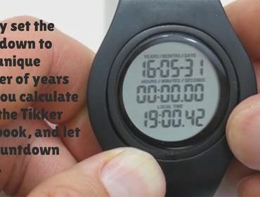 Часы предсказывают дату смерти
