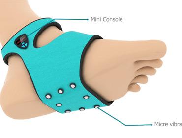 Электронный носок для пробуждения