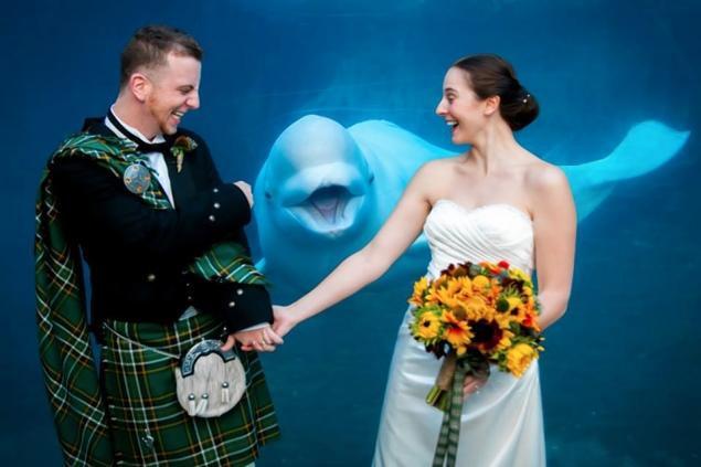 Белуха снялась на свадебном фото