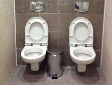 Туалет для двоих