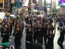 Флешмоб с болливудскими танцами