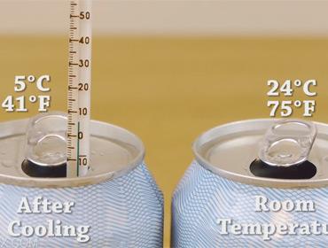 Как быстро охладить напиток