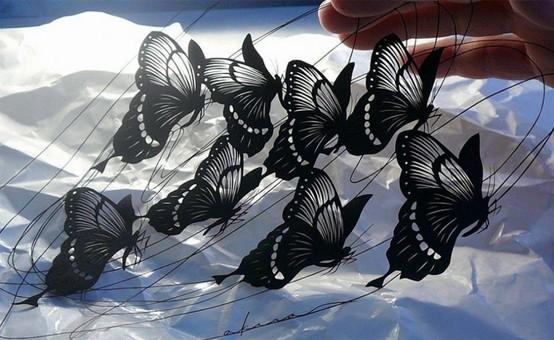 Произведения искусства из простого листа бумаги
