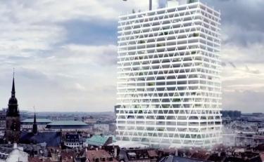 Студент-архитектор Мартин МакШерри разработал проект для Дании.