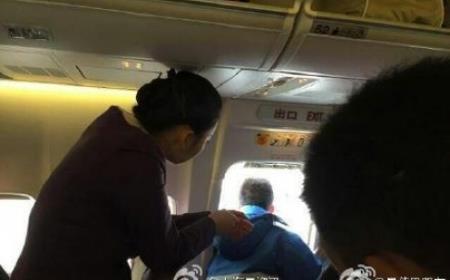 Пассажиру захотелось «подышать» перед взлетом