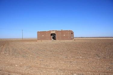 Оставленная школа в Меските, штат Техас. (Фото: Leaflet)