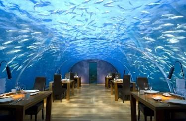 Ресторан на пятиметровой глубине