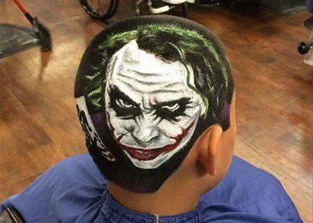 Удивительные рисунки из волос