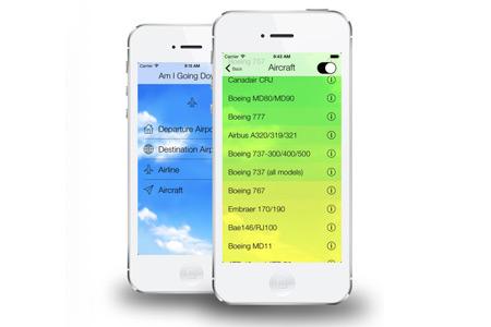Приложение для Айфона вычисляет вероятность падения самолета