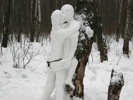 Зима для взрослых: топ-12 любвеобильных снеговиков
