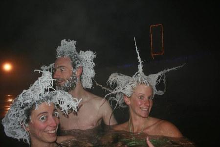 Конкурс замороженной прически в Канаде