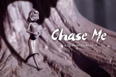 Первый анимационный фильм, напечатанный на 3D-принтере