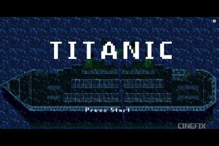Новая версия фильма «Титаник». Всего 8 бит.