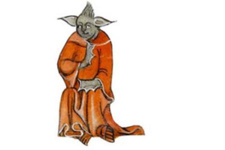В манускрипте XIV века найден был магистр Йода