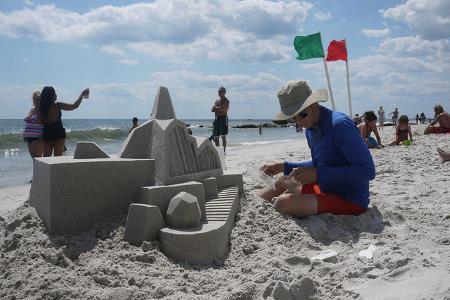 Топ самых крутых замков из песка