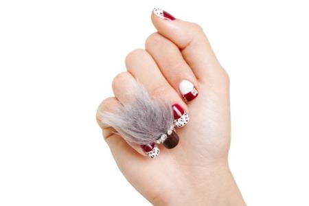 Ногти волосатые