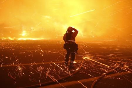 Странный пожарный поджигал леса от скуки