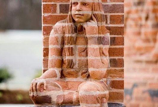 Кирпичные скульптуры Брэда Спенсера