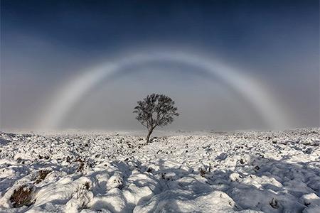 Белая радуга
