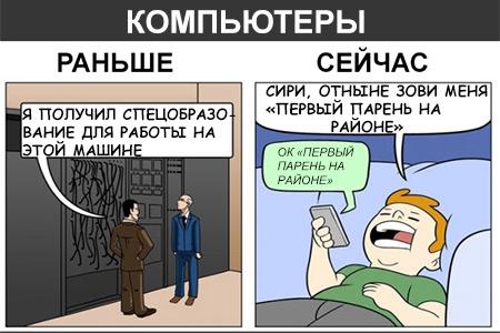 Техника: раньше и сейчас
