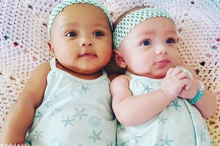 Разноцветные близняшки
