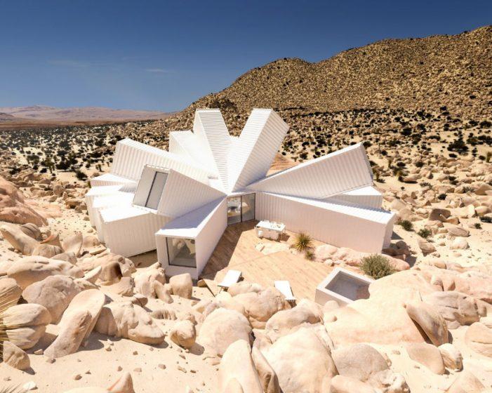 Футуристическое жилище в калифорнийской пустыне