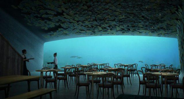 В Норвегии откроется первый подводный ресторан в Европе